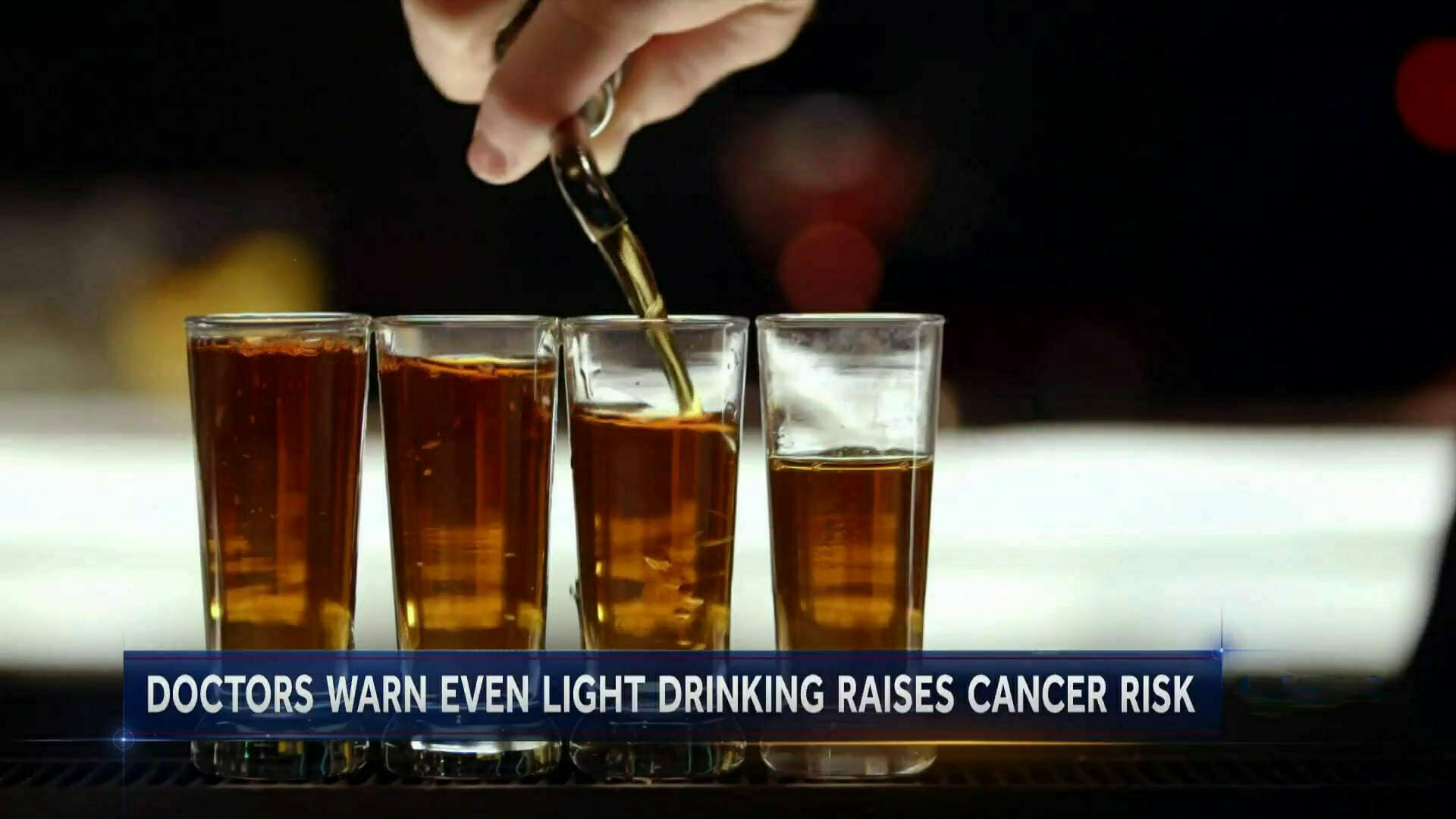 alcohol can lead to disease and cancer